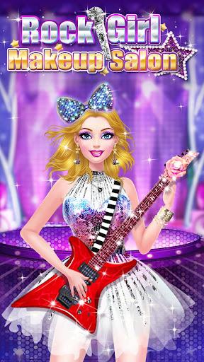 ud83cudf99ufe0fud83dudc67Music Girl Makeup Salon - Rock Star Dress Up screenshots 16