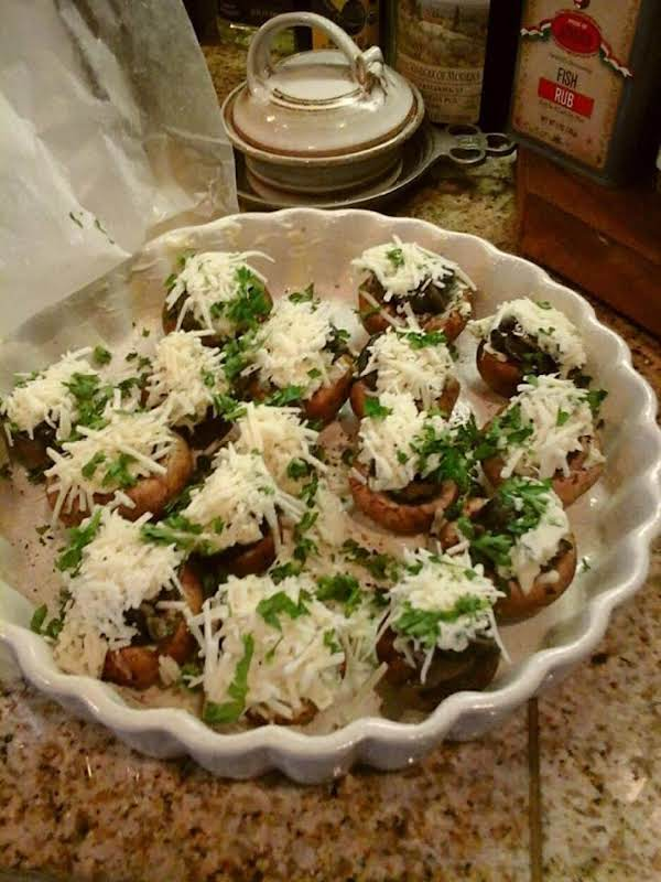 These Escargot Mushrooms Will Be Ready In About 15 Minutes, After They Bake In A 400 Degree Oven.