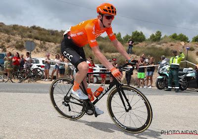 Nathan Van Hooydonck baalt van de afgelasting van Tirreno-Adriatico