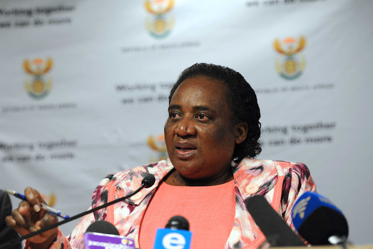Labour Minister Mildred Oliphant. Picture: GCIS