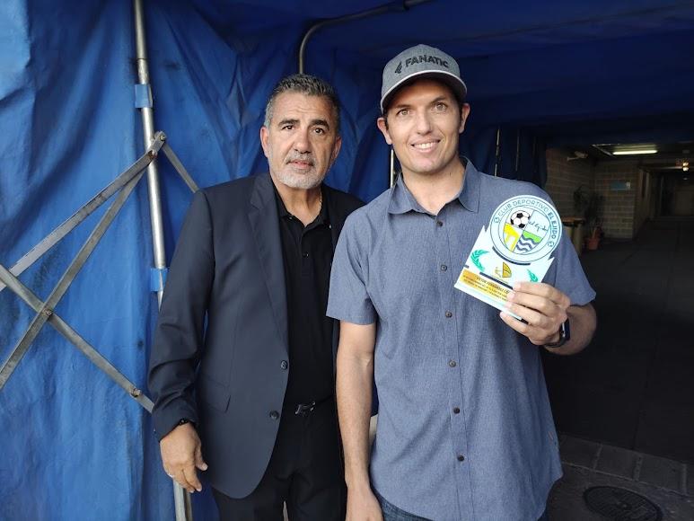 El CD El Ejido reconoció a Víctor Fernández.