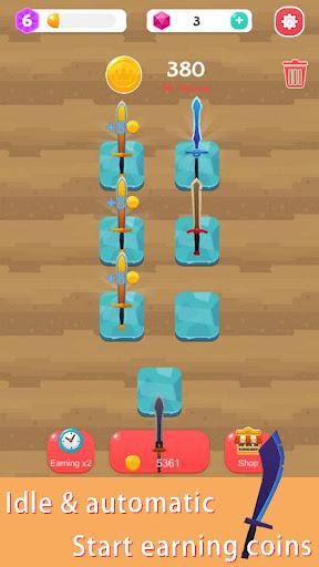 Merge Sword - Idle Blacksmith Master  screenshots 2