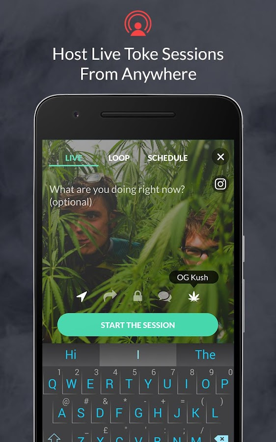 Toke.TV - Live Weed Community- screenshot