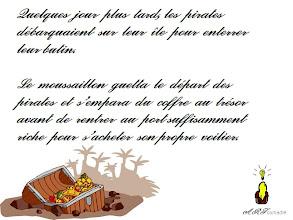 Photo: Page 3 de l'histoire sans fin pirate Le coffre aux trésors