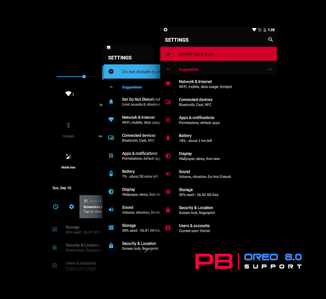 PitchBlack Origins│Dark & Black Substratum Theme v22.0 [Patched]