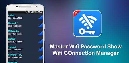 Master Wifi Key Password Show Wifi Manager App Apk Free Download