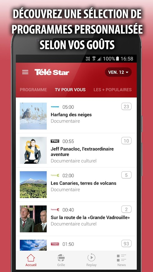 Télé Star Programme TV- screenshot