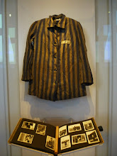 Photo: Concentration camp uniform and photos