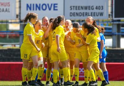 Yellow Flames pakken Beker U16 tegen KAA Gent Ladies