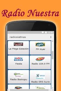 Free Latin Radios Spanish Portuguese English - náhled