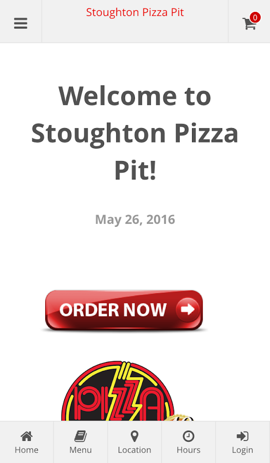Stoughton Pizza Pit Ordering- screenshot