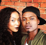 Simz Ngema with late husband Dumi Masilela. File Photo
