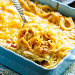 Spicy Chicken Spaghetti Bake Recipes