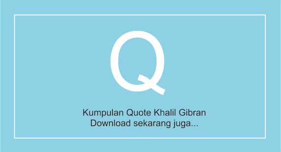 Quote Khalil Gibran Vo.2 : Cinta (2019) - náhled