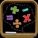 Bambini gioco matematico icon