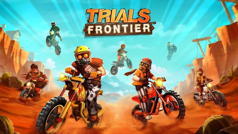 Trials Frontier v5.4.0 (Mod Money)