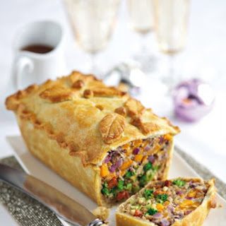 Leek, Squash And Broccoli Pie