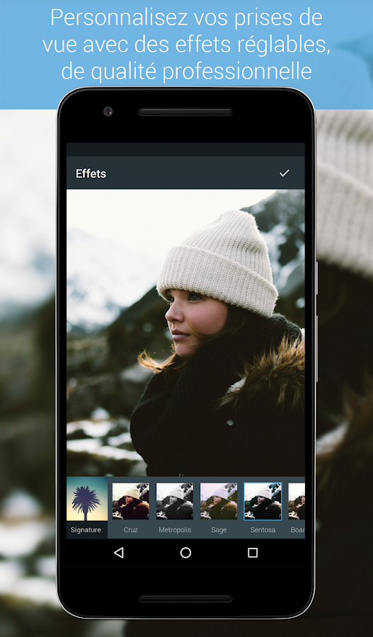 Photo Editor par Aviary – Capture d'écran