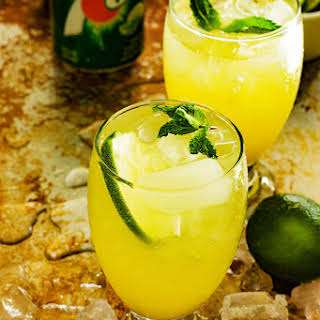 Pineapple Ginger 7up Punch.