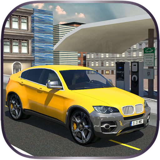 电动出租车汽车模拟器3D 模擬 App LOGO-APP開箱王