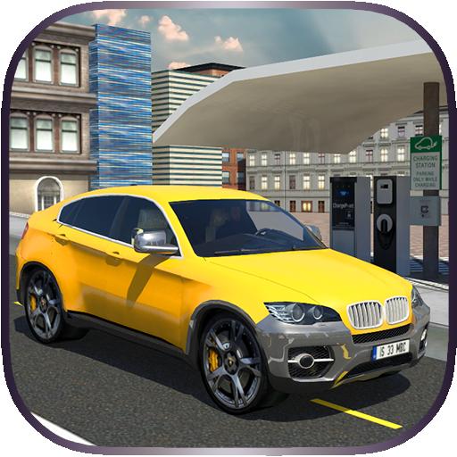 Electric Taxi Car Simulator 3D 模擬 App LOGO-硬是要APP