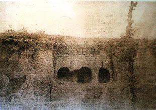 Photo: Fig. 3. Prospetto Tomba del Peccato, Faleri, foto (1881-97).