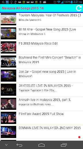 Malaysia All Songs 2015