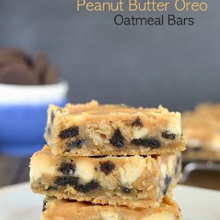 White Chocolate Peanut Butter Oreo Bars Recipe