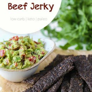 Healthy Homemade Beef Jerky