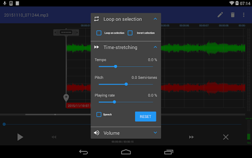 RecForge II Pro - Audio Recorder Screenshot