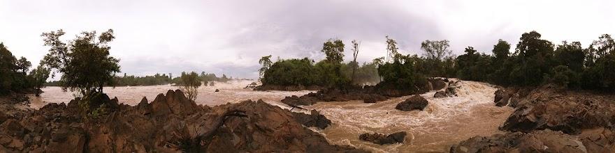 Photo: Laos, Si Phan Don, Don Det, Khon Phapheng Waterfall