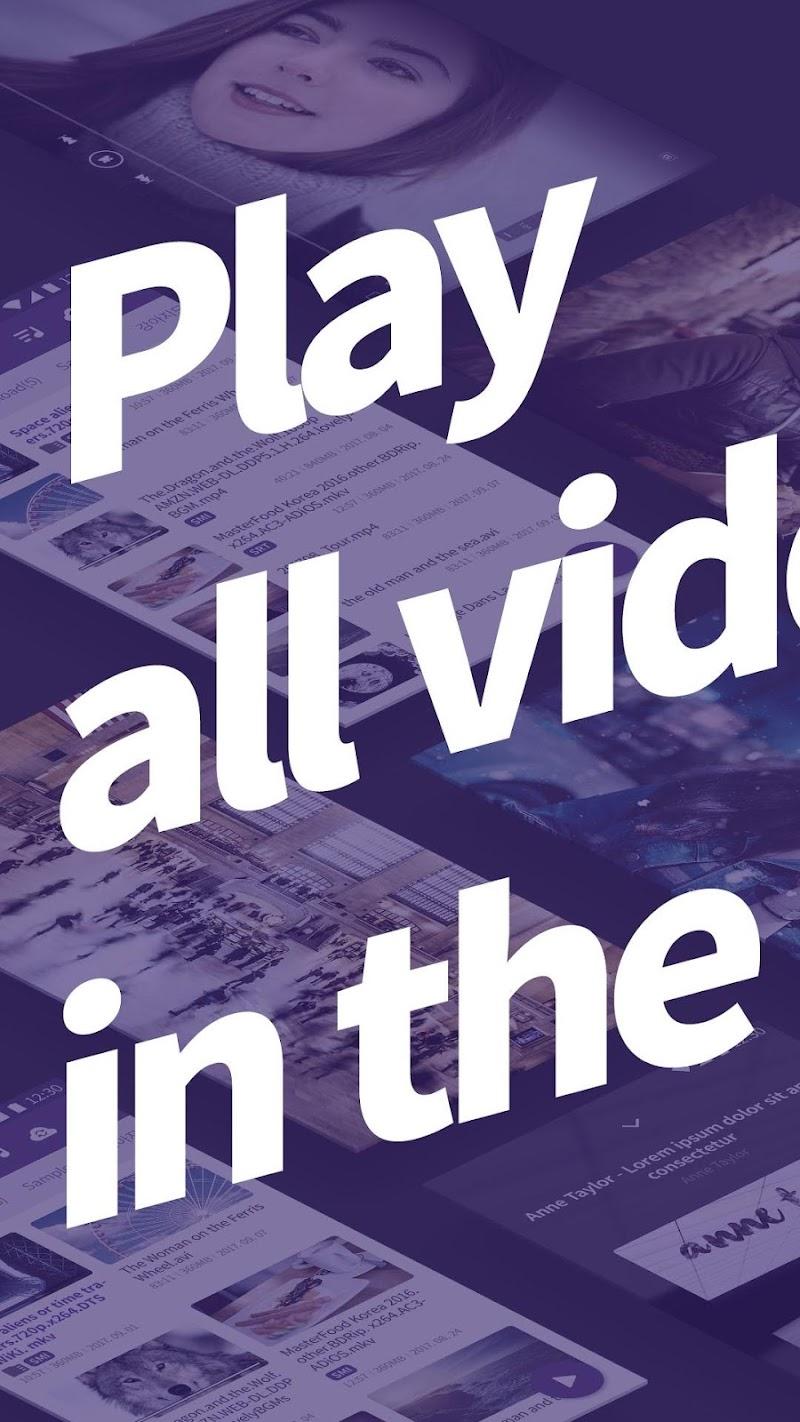 Video Player HD All formats & codecs - km player Screenshot 0