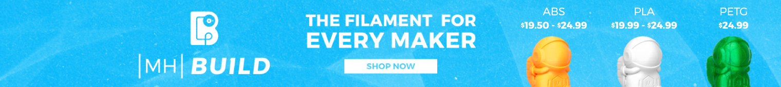 MatterHackers Build Series: The filament for every maker - PLA, ABS, PETG