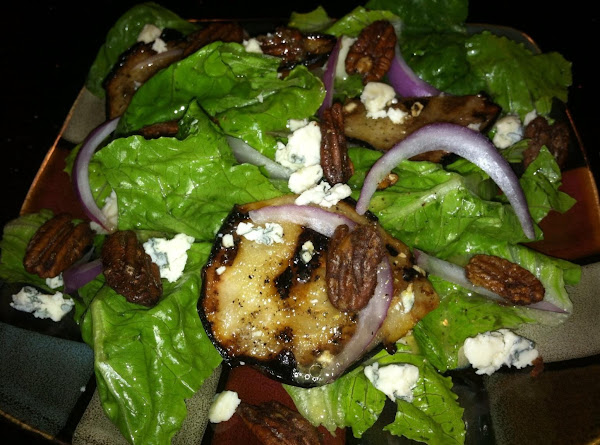 Grilld Pear Salad W/bleu Cheese N Candied Pecans Recipe