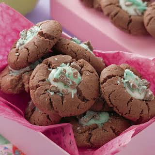 Chocolate Peppermint Cookies.