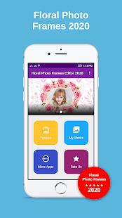 Download Floral frame photo editor 2020 For PC Windows and Mac apk screenshot 4