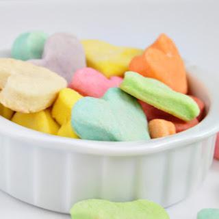 Conversation Heart Shortbread Cookies