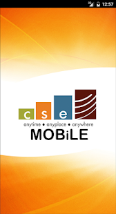 CSE MOBiLE- screenshot thumbnail