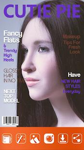 Časopis Přední Strana Obálky - náhled