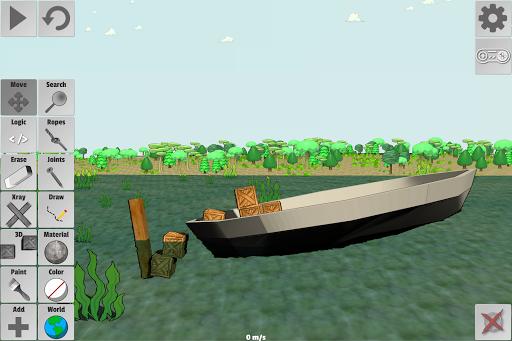 Super Contraption Maker  άμαξα προς μίσθωση screenshots 2