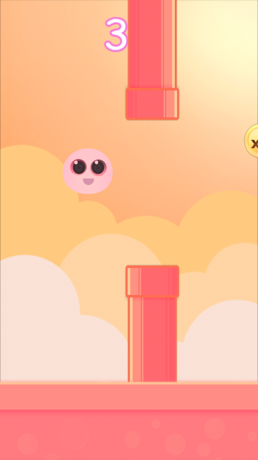 Fluffy Peach - Mini Games- screenshot