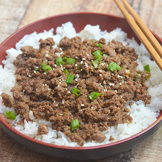 Korean Ground Beef.
