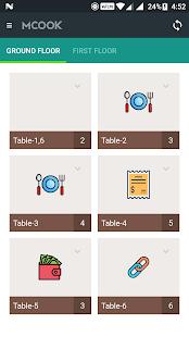 MCOOK: Restaurant Management - náhled
