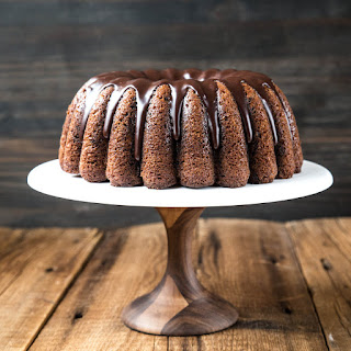Marbled Pumpkin Chocolate Cake Recipe