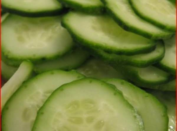 Vinegar Cucumbers And Onions Recipe