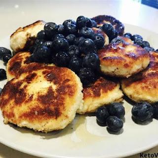 Farmer Cheese Pancakes.