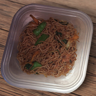 Spicy Clementine Miracle Noodles.