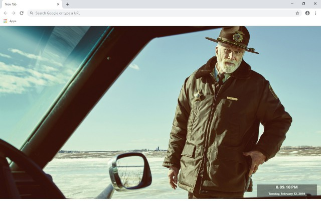 Fargo New Tab & Wallpapers Collection