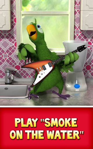 Talking Pierre the Parrot Free screenshot 11