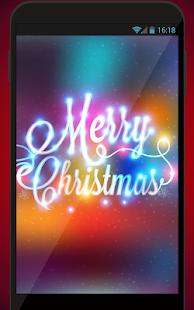 Neon Vánoční Tapety - náhled
